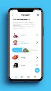 Wishlist aplikace pro iPhone a Android