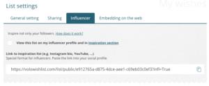 Jak získat influencer link na VOLO